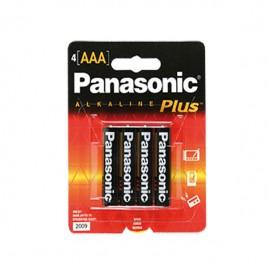 Blister de 4 pilas AAA Panasonic alcalina