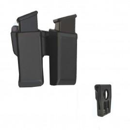 Porta cargador polímero ESP , doble , universal.